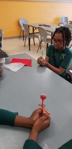 Chemical Reactions: Hands-on activities support critical thinking.